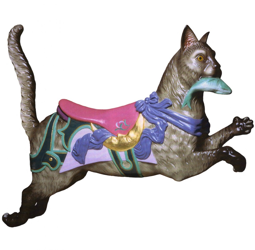 CB313 - Kitten Carousel Animal