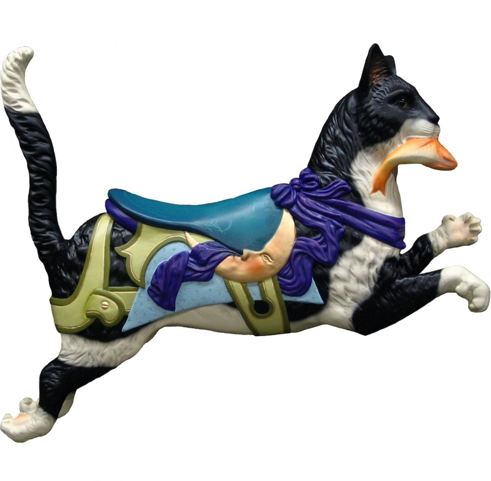 CB313 - Cat Carousel Animal