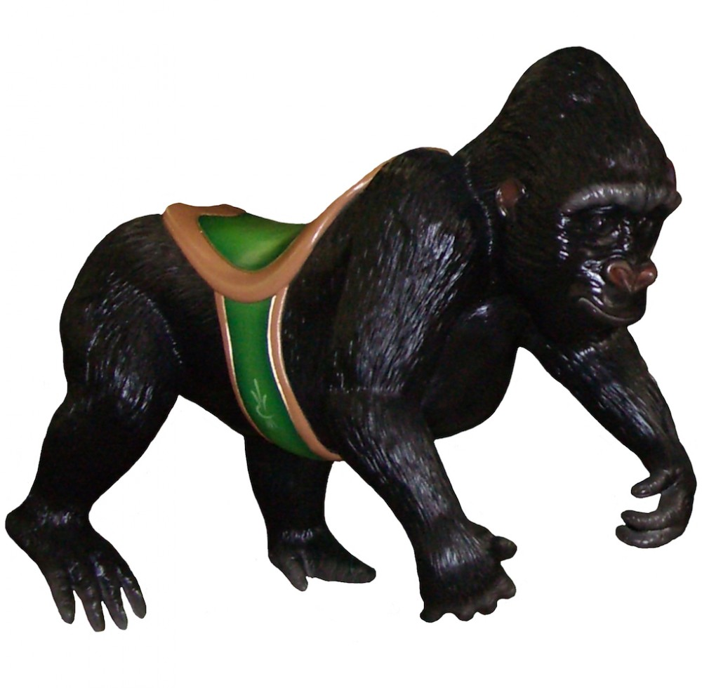 CB701 - Gorilla Carousel Animal